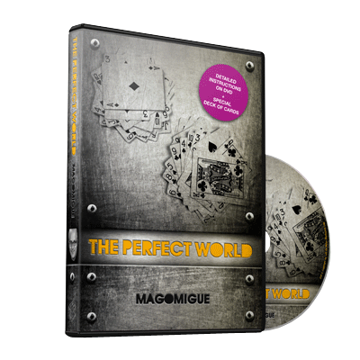 The Perfect World (DVD and Deck) Mago Migue and Luis De Matos