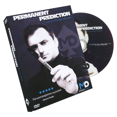 Permanent Prediction (DVD and Gimmick) by Matt Daniel-Baker - Trick