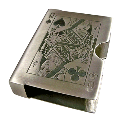 Pewter Card Case (Heavy) by Buma