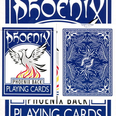 Phoenix Parlour Double Decker Two Way (Blue) by Card-Shark - Trick