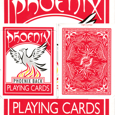 Phoenix Parlour Marked Deck (Red) by Card-Shark - Trick