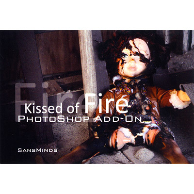 Photoshop - Kissed of Fire (ADD ON) - Will Tsai and SansMindss