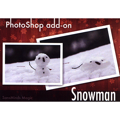 PhotoShop Snowman Edition (with Props) by Will Tsai and SM Productionz - Trick