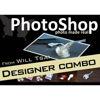 PhotoShop Designer Combo Pack (with Gimmicks) by Will Tsai and SansMinds - Trick
