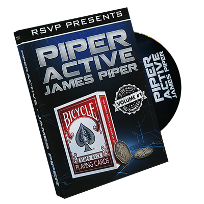 Piperactive Vol 1 by James Piper and RSVP Magic