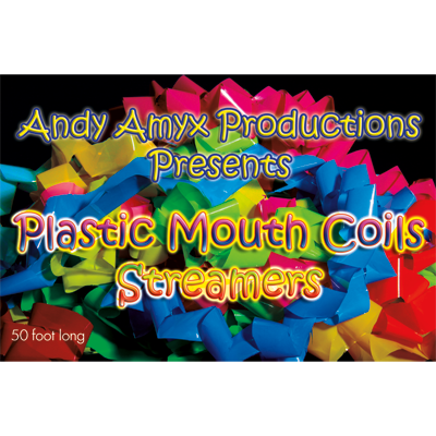 Plastic Mouth Coil (Rainbow) - Andy Amyx
