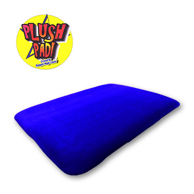 Large 13x17 Plush Pad (BLUE) without Pockets by Hampels Magic Center - Trick