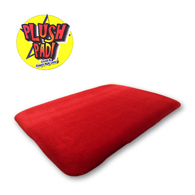 Large 13x17 Plush Pad (BURGUNDY) without Pockets by Hampel Magic Center - Trick