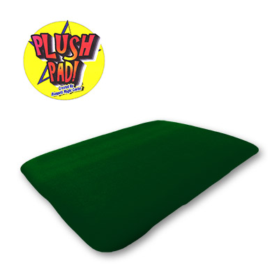Large 13x17 Plush Pad (GREEN) without Pockets by Hampels Magic Center - Trick