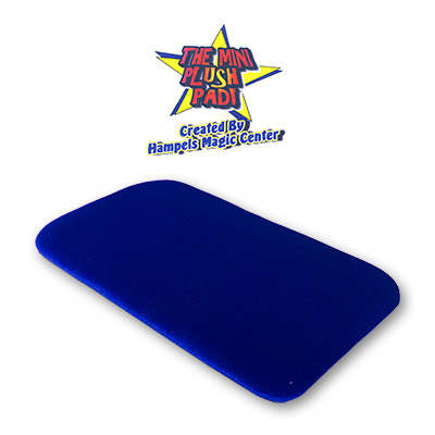 Small Plush Pad (BLUE) without Pockets by Hampels Magic Center - Trick