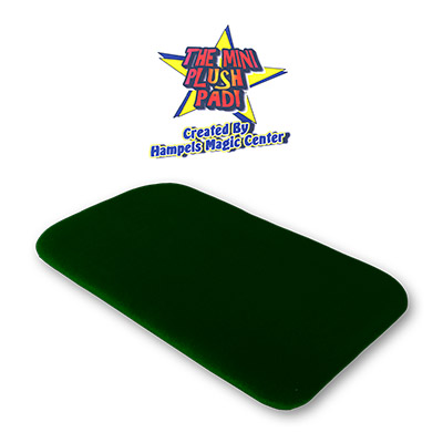 Small Plush Pad (GREEN) without Pockets by Hampels Magic Center - Trick