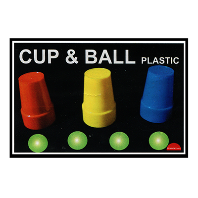 Cups & Balls (Plastic) - Premium Magic