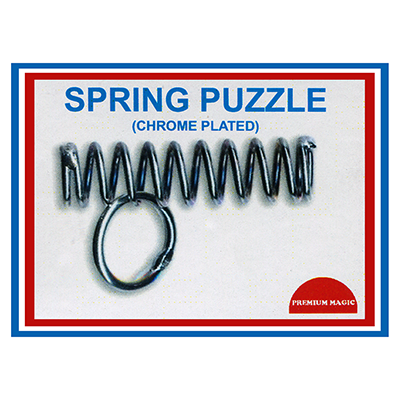Spring Puzzle (Chrome Plated) by Premuim Magic - Trick