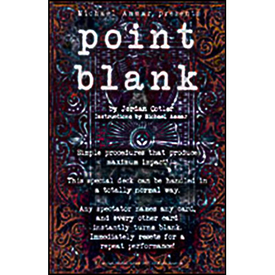 Point Blank - Michael Ammar & Jordan Cotler