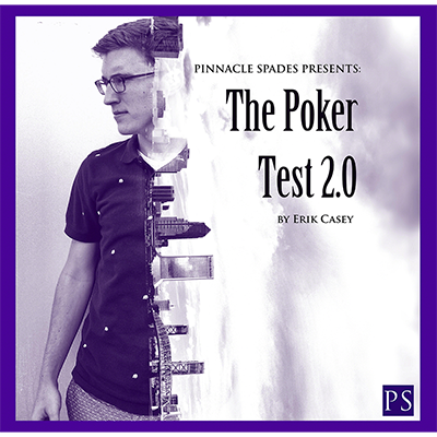 Poker Test 2.0 (DVD and Gimmick) by Erik Casey - DVD