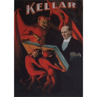 Kellar (Large Imp) Poster - Trick