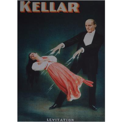 Kellar (Levitation) Poster - Trick