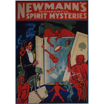 Newmanns Wonderful Spirit Mysteries Poster - Trick
