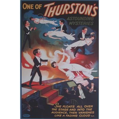Thurston (Astounding Mysteries) Poster - Trick