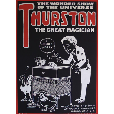 Thurston (Black And Red) Poster - Trick