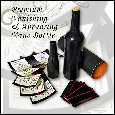Premium Vanishing & Appearing Wine bottle