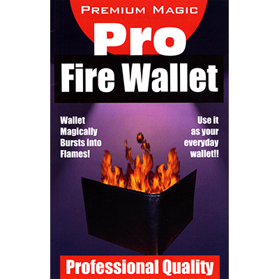 Fire Wallet by Premium Magic - Trick