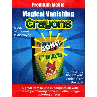 Magical Vanishing Crayons - Premium Magic