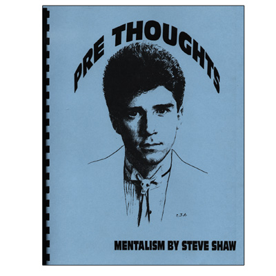 Pre Thoughts by Steve Shaw - Book