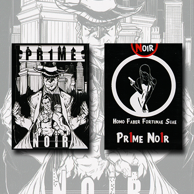 Pr1me Noir Deck (Limited Edition) by Max Magic & Stratomagic