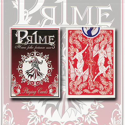 Pr1me Series001 Deck (Red) by Max Magic & stratomagic - Trick