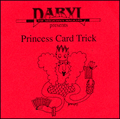 Princess Card by Daryl - Trick