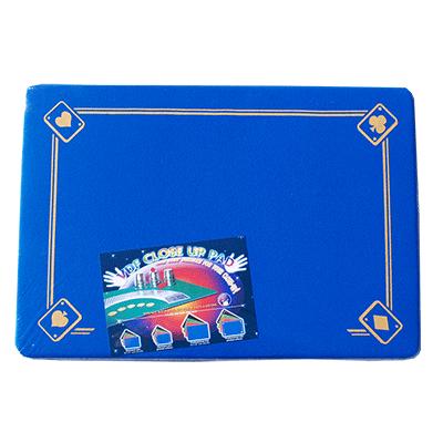 PRO VDF Close Up Pad with Printed Aces (Blue) - Di Fatta Magic