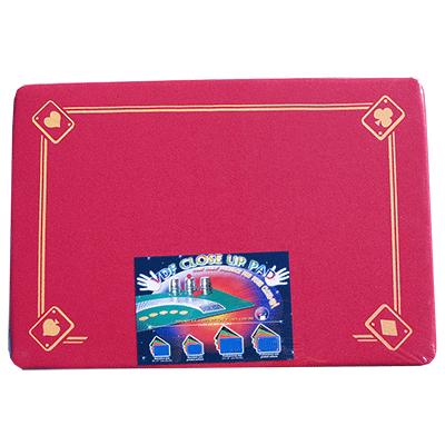 PRO VDF Close Up Pad with Printed Aces (Red) - Di Fatta Magic