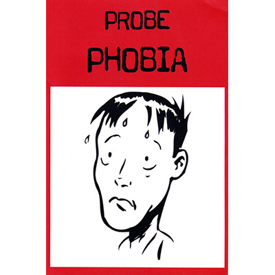 Optional Cards for Probe (Phobia - 10 cards) by Sean Taylor - Trick