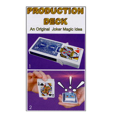 Production Deck by Joker Magic - Trick