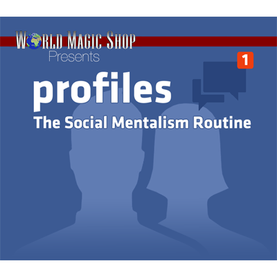 Profiles: The Social Mentalism Routine (DVD and Gimmick) by World Magic Shop