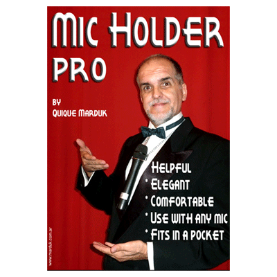 Pro Mic Holder (Chrome) by Quique marduk - Trick