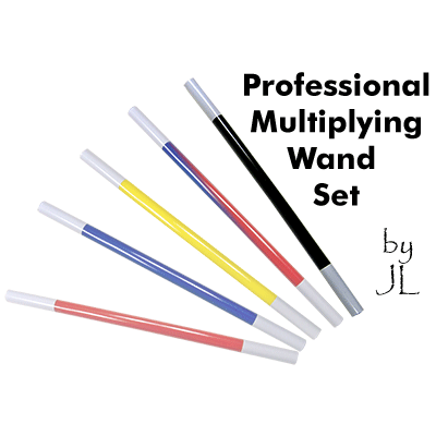 Professional Multiplying Wand Set by JL Magic - Trick