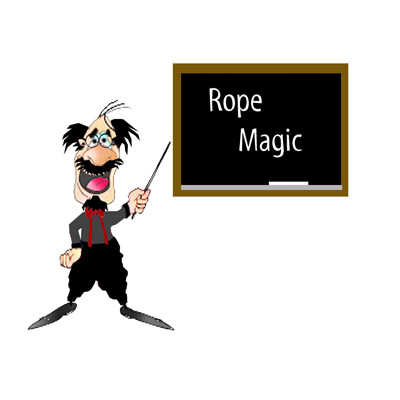 Pro Professor Cheer's Comedy Rope by D & B Magic - Trick