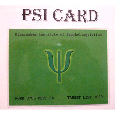 Psi Card by Outlaw Effects