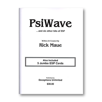 PsiWave by Rick Maue - Book