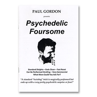 Psychedelic Foursome by Paul Gordon