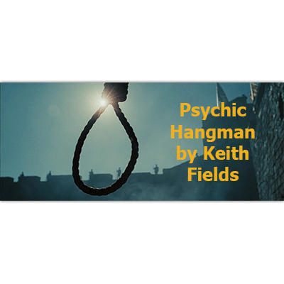 Psychic Hangman by Keith Fields - Trick