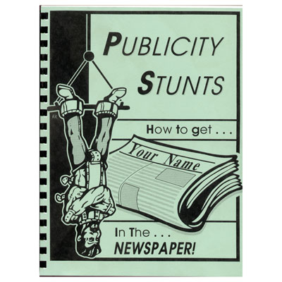 Publicity Stunts book