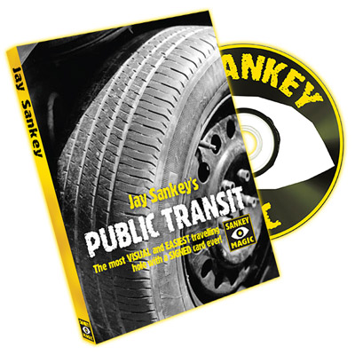 Public Transit (With DVD) by Jay Sankey - Trick
