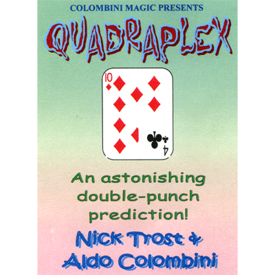 Quadruplex by Wild-Colombini Magic - Trick