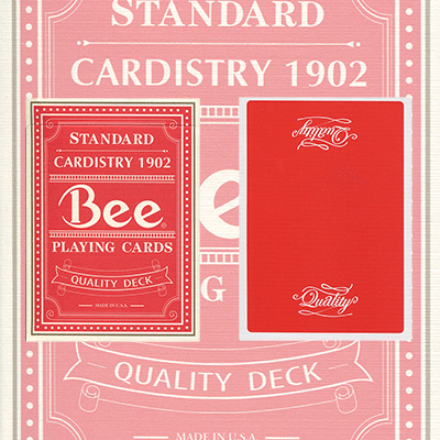 Quality Red Bee (Rare/Out of Print) USPCC - Trick