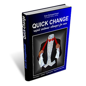 Quick Change Book (For Men) by Lex Schoppi (Sven Schoppenhauer) - Libro de Magia