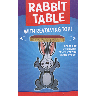Rabbit Table with Revolving Top - Trick