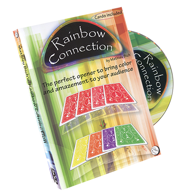 Rainbow Connection (DVD and Gimmick) by Mathieu Bich